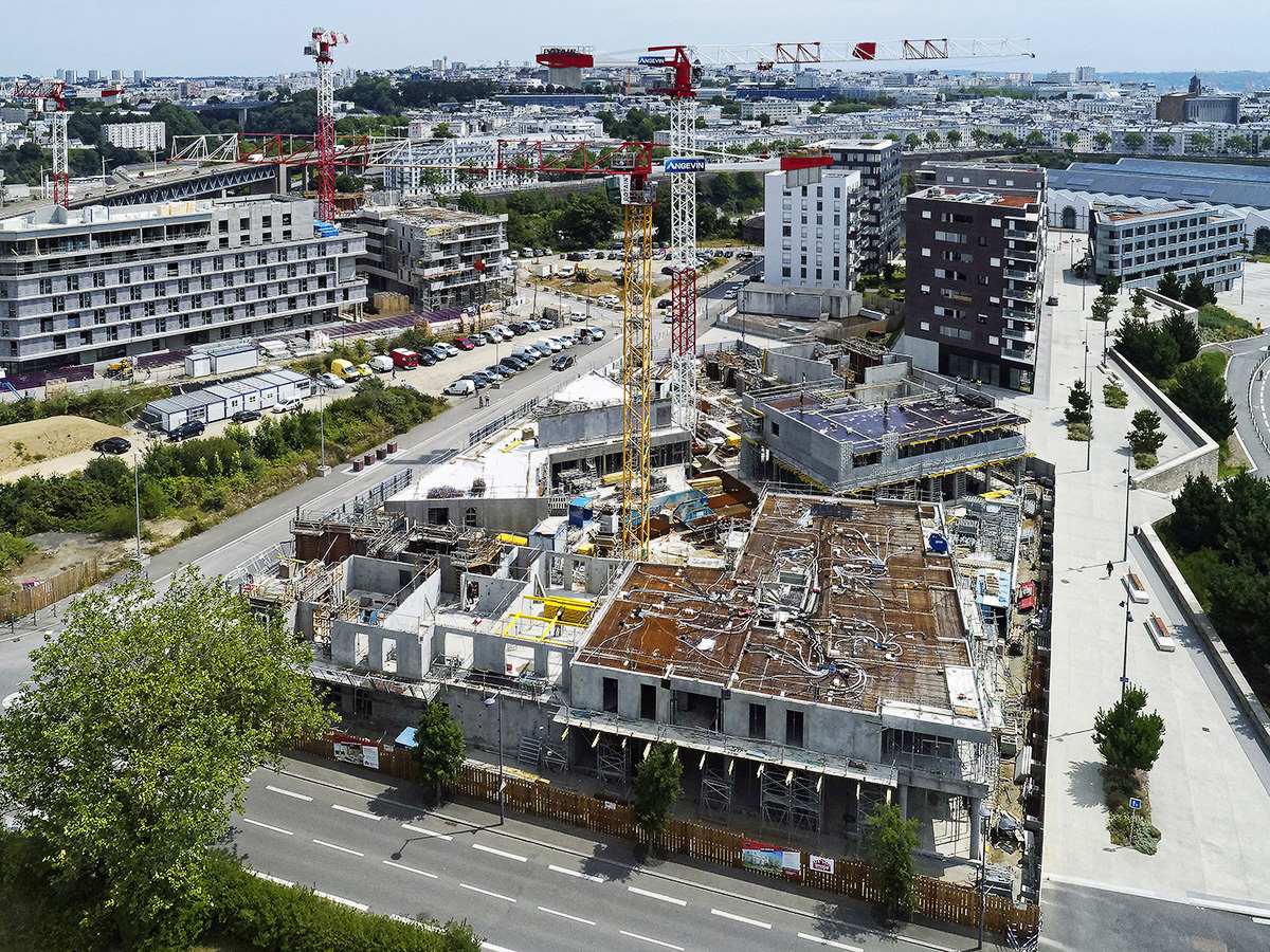 Brest suivi de chantier de construction -BTP-2019-2020