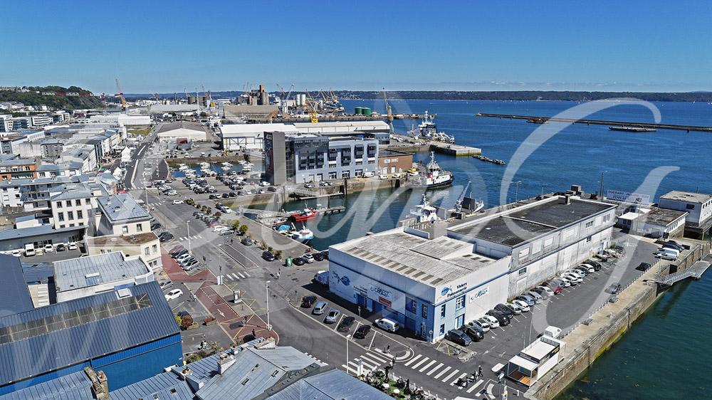 Port de Commerce de Brest - BMO - drone Dominique Guillaume